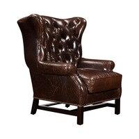 Изготовление мебели гостиницы кожаный диван Китай