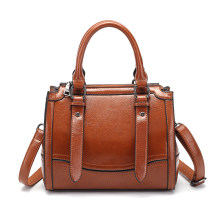 Brand Women's Genuine Leather Handbag Fashion Female Big Tote Shoulder Bags High Quality Top-Handle Bagsfemale crossbody bag T49(China)