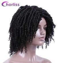 купить✲  14 ' мягкие парики для волос Dreadlocks для женщин Chorliss Ombre Короткие синтетические парики