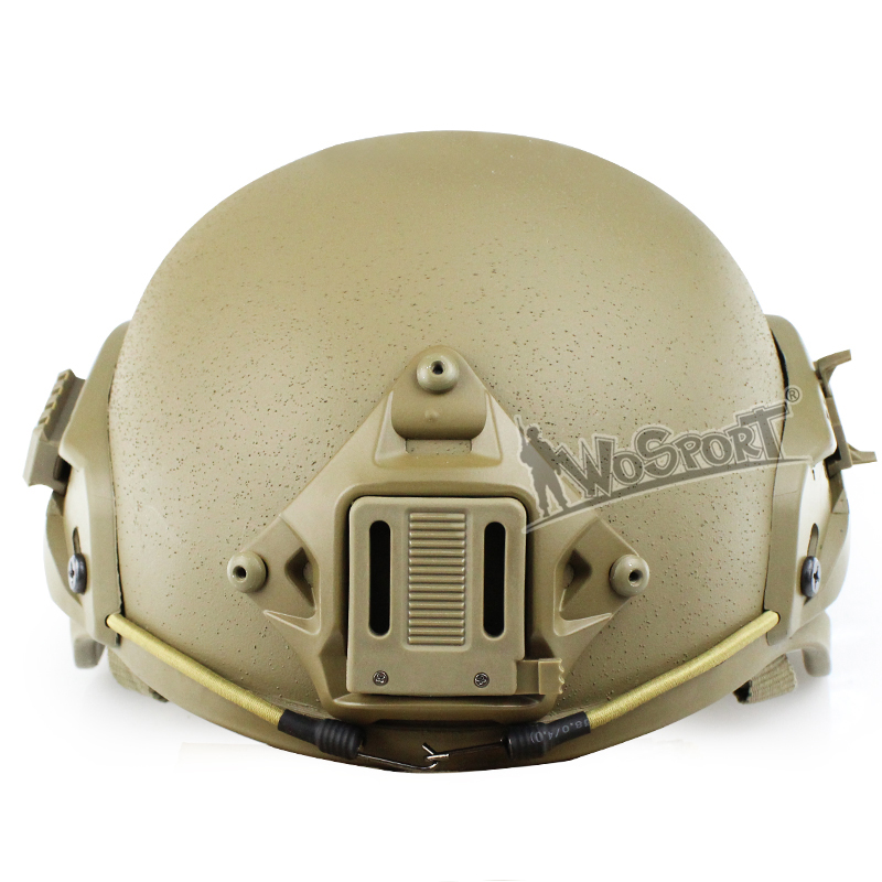 где купить Tactical MICH 2000 Military Helmet with NVG Mount and Side Rail Sports Safety Helmets Airsoft Paintball CS Combat Sports Helmet дешево