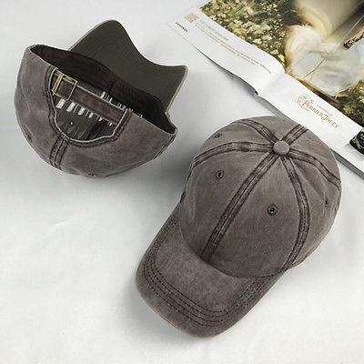 Hats Snapback-Caps Blank Baseball-Cap Plain-Bone Vintage Casquette Sun-Hat Women