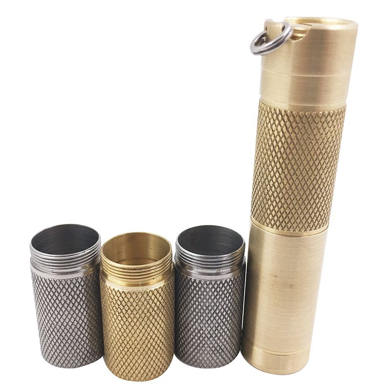 Titanium Alloy/Staineless Steel/Brass Extendsion Body Tube Accessories For DQG Slim Flash Light Flashlight Torches