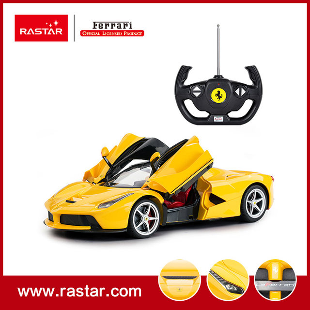 Rastar Licensed Ferrari LaFerrari 1:14 Open Door Electric Car For Kids With  Remote Control 50100