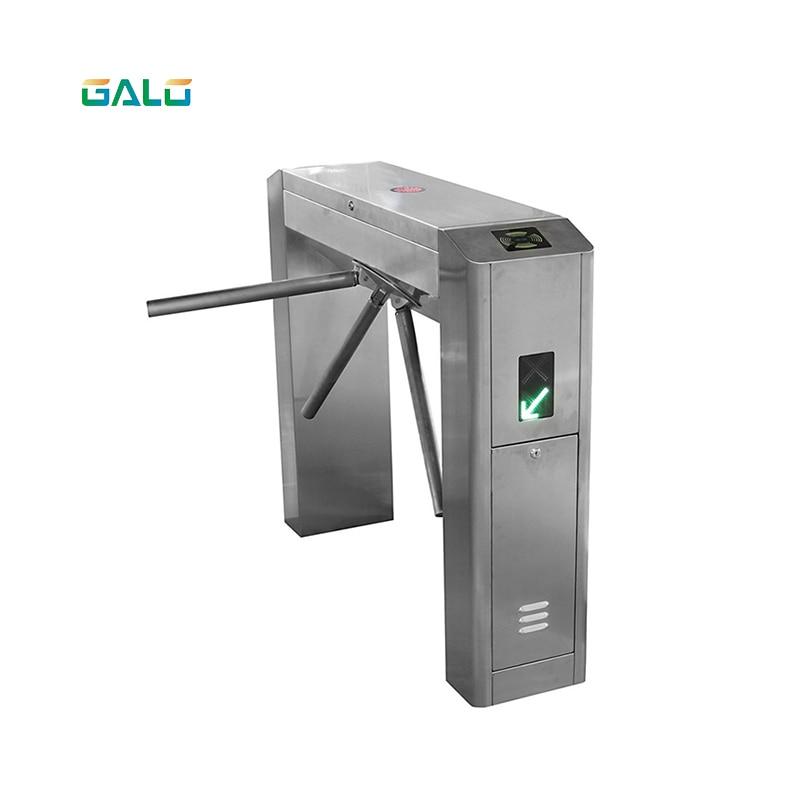 Turnstile Price QR Scanner Vertical Tripod Tourniquet Door With Wiegand RFID Access Control