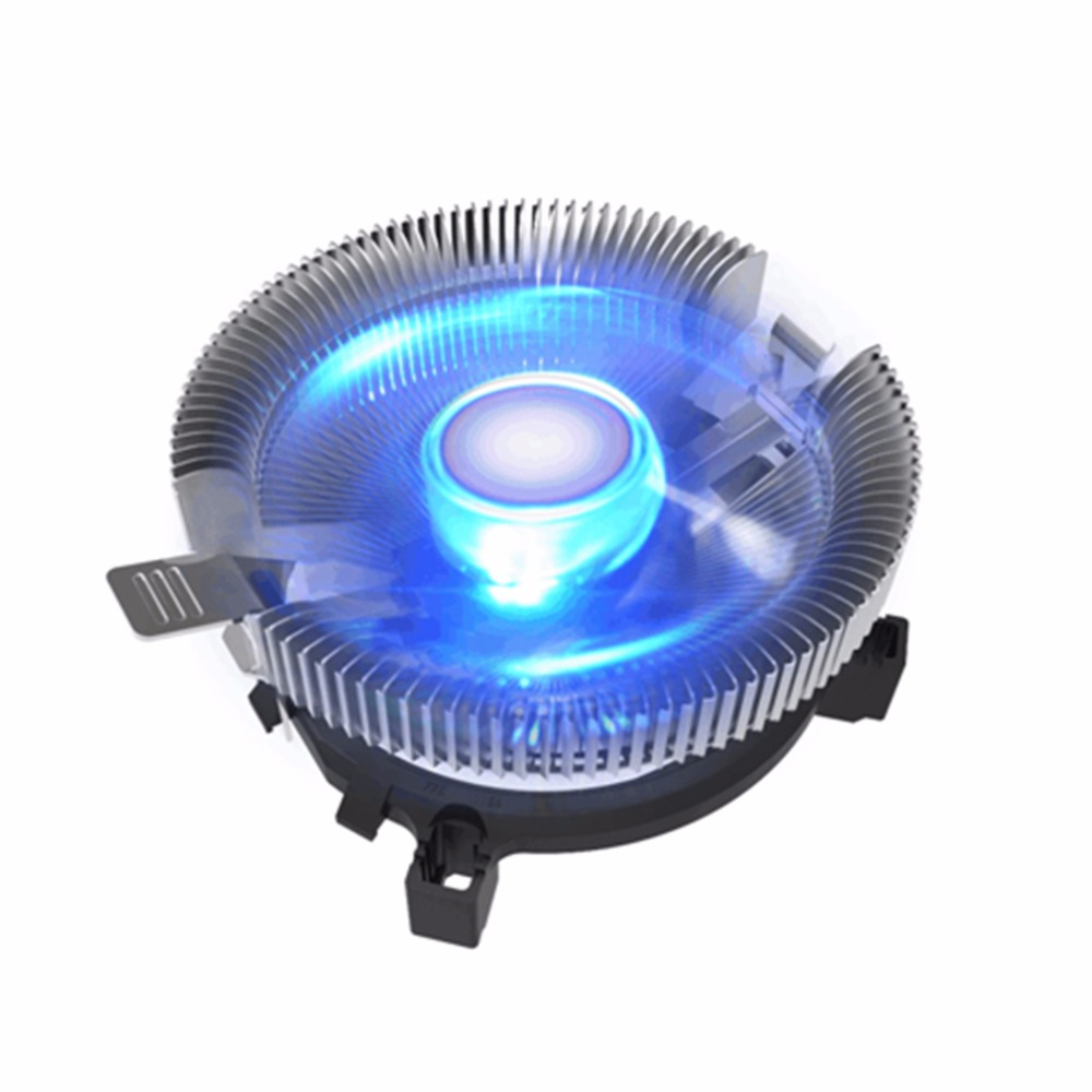 1pcs PC CPU Cooler 3 PIN 12V CPU Cooling Fan Cooler CPU Radiator Heatsink For AMD AM2 AM2 AM3 For INTEL LGA775 12v 2 pin 55mm graphics cards cooler fan laptop cpu cooling fan cooler radiator for pc computer notebook aluminum gold heatsink