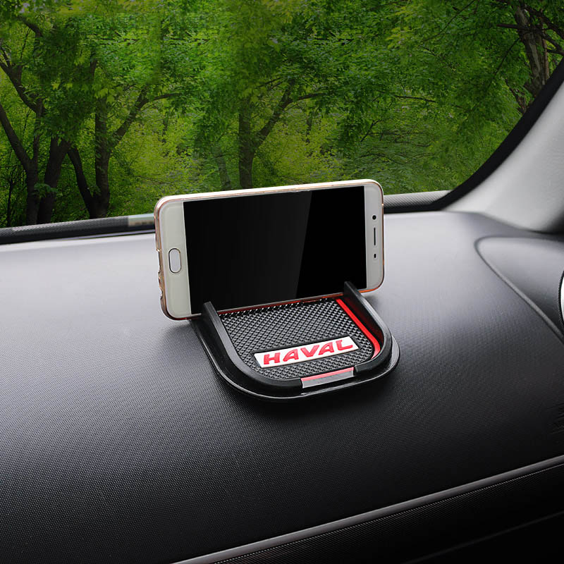 Lsrtw2017 Rubber Car Interior Mobile Navigation Bracket Mobile Phone Pad for Great Wall Haval H5 2011 2020 2019 2018 2017 2016 in Interior Mouldings from Automobiles Motorcycles