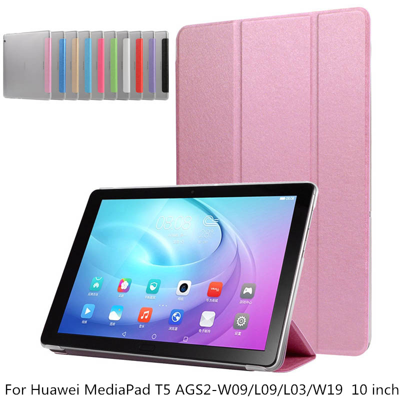 Transparent Case For Huawei MediaPad T5 AGS2-W09/L09/L03/W19 Honor Pad 5 10.1