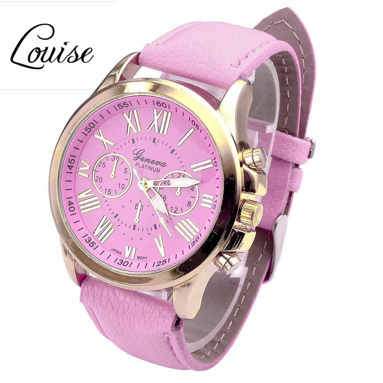 Louise New Casual Watch font b Women b font font b Dress b font Watches Roman