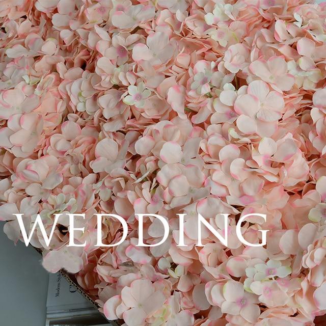 APRICOT Silk flower Wedding Decoration Artificial flowers Spring vivid Big Hydrangea wedding flowers decoration 15colors 2