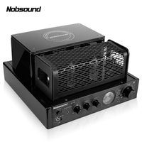 Nobsound MS 30Dll 2.0 Bluetooth Output power 25W Electron tube amplifier HIFI Vacuum Tube Integrated bile machine amplifier USB