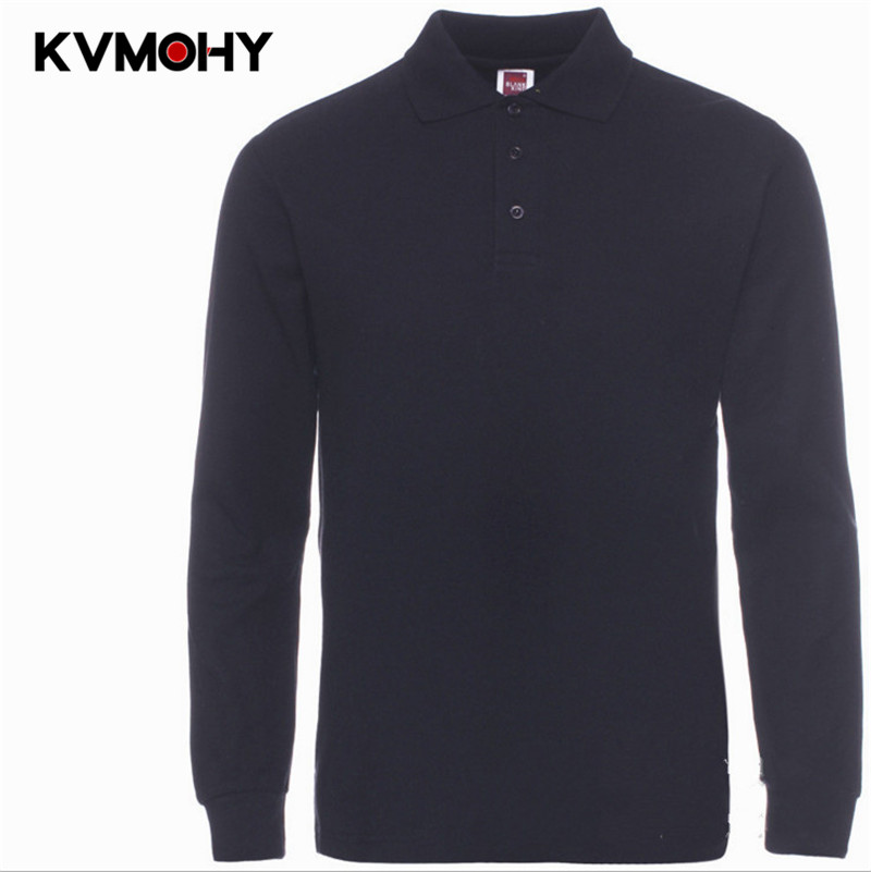 Polo   Shirt Men Solid Color Long-Sleeve Men's   Polos   New Arrival Breathable Brand Clothing Camisa   Polos   Para Hombre Shirts