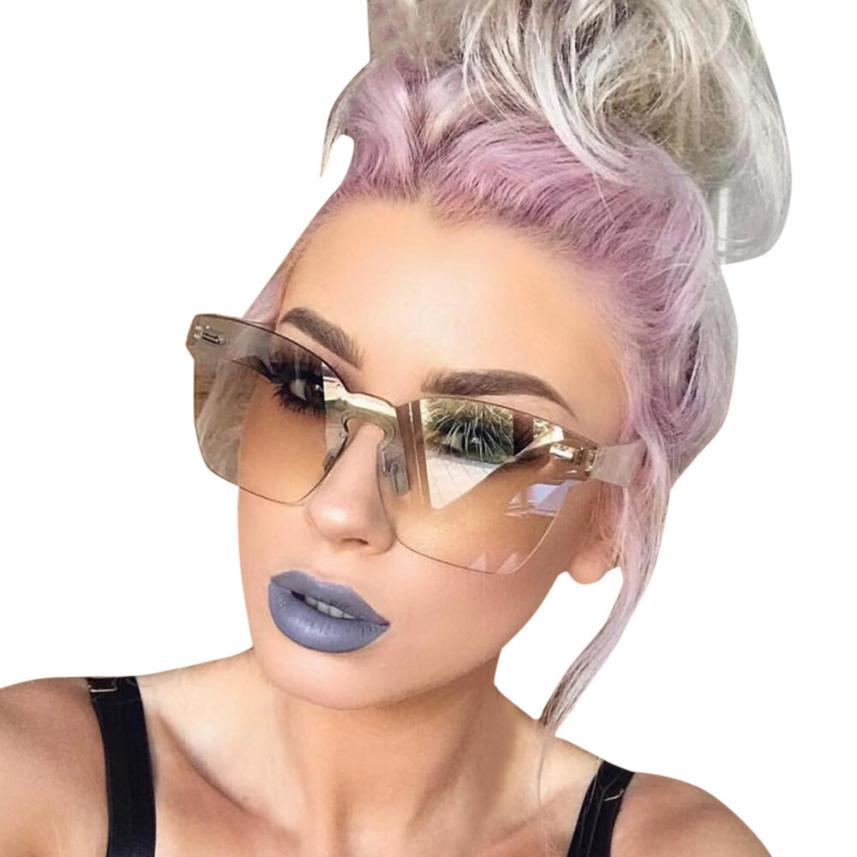 #5 2018 NEW Fashion Women Unisex Fashion Chic Shades Acetate Frame UV Glasses Sunglasses