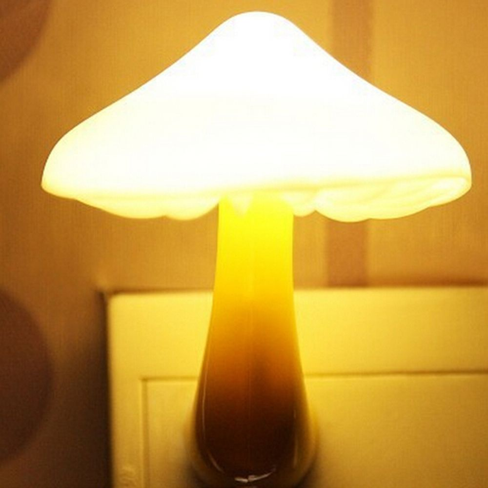 1 Pcs Hot Sale EU Plug LED Night Lamp Children Room AC110V / 220V 0.7W Lighting Auto Sensor Plastic Smart Dream Bed Decoration