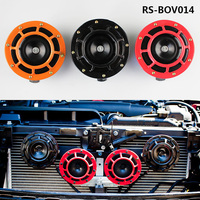 RASTP FreeShipping 12V Super Loud Grille Mount Compact Electric Blast Tone Horn Kit For Universal Car