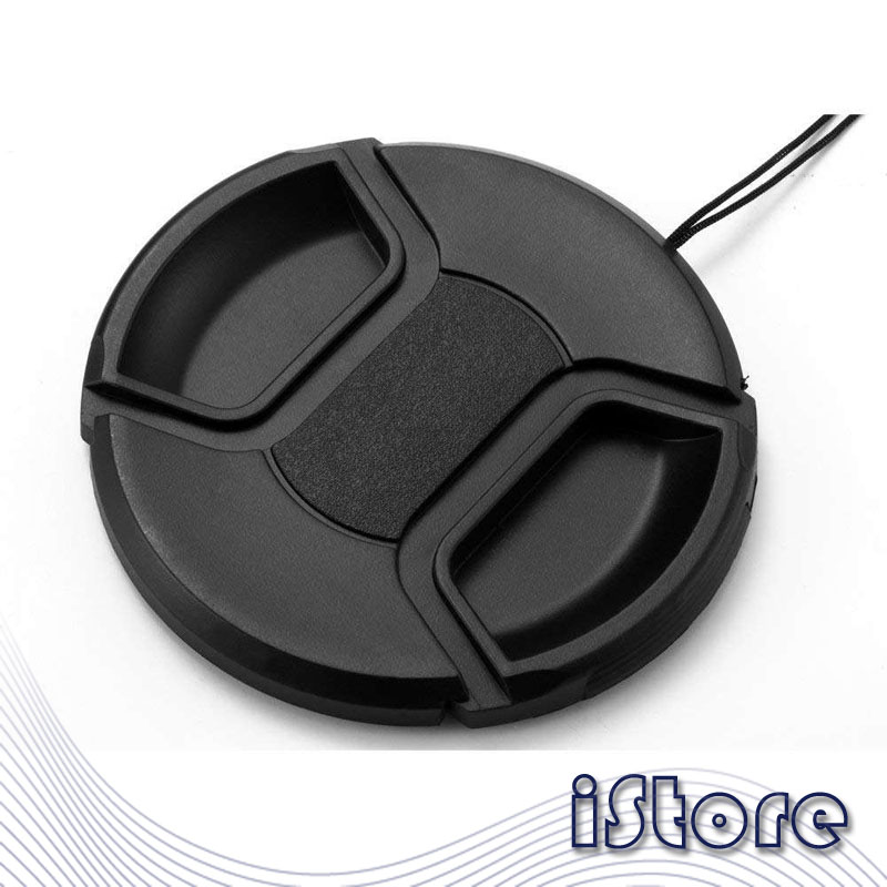 Lens cap Neutral universal lens cap with rope without word 43mm 46mm 49mm 52mm 55mm 58mm 62mm 67mm 72mm 77mm 82mm