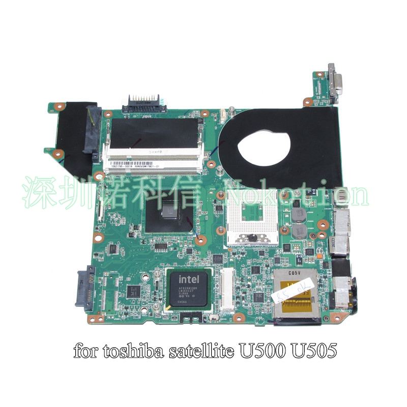 H000019030 PN 08N1-08O5G00 Mainboard For Toshiba satellite U500 U505 Laptop motherboard GM45 DDR2