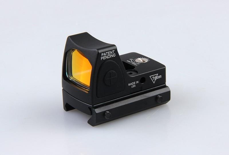 Vysoce kvalitní RMR Mirco 3.25 MOA Mini Červená Dot Sight Style Red Dot Sight S přepínačem pro lov