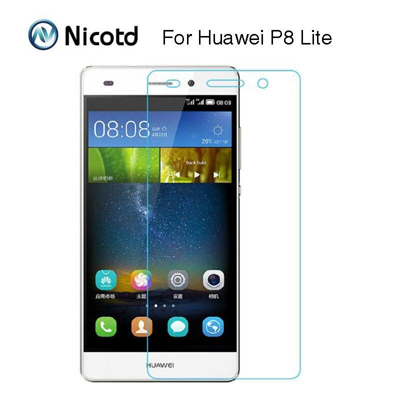 0.26MM Explosion-proof Tempered Glass Film For Huawei P8 Lite P8Lite Dual Mini ALE-L02 ALE-L04 ALE-L21 ALE-L23 Screen Protector