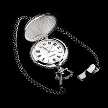 Фотография BERNY 2017 New Arrived Watch Men Pocket Watches hang stainless steel watch ancient watch