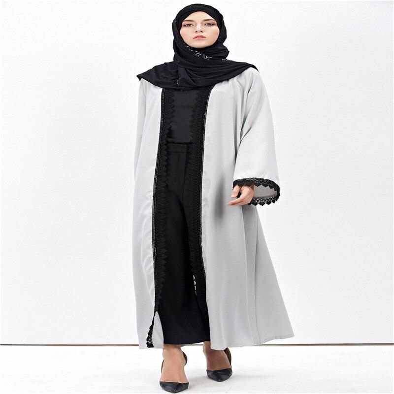 Nouveau Femmes Musulmanes De Mode Vintage Jilbab Cardigan Robe Amira - Vêtements nationaux - Photo 5