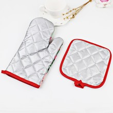 1Set Christmas Baking Anti-Hot Gloves