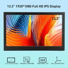 Elecrow 13,3 zoll 1080P IPS Tragbare Led anzeige Dual HDMI Bildschirm Computor Monitor für Raspberry Pi XBOX Gaming Geräte
