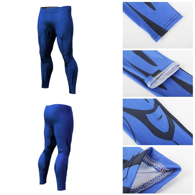 3D Print Dragon Ball Z Compression Fitness Pants