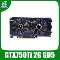 Original upgraded Nvidia Geforce GTX Graphics Cards GTX750Ti 2048MB GDDR5 128bit 1020/5400MHz