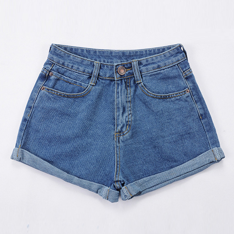 Women Shorts Solid Mid 51%-70%Cotton Loose Casual Shorts New Slim Comfortable And Elastic Shorts For Women In 2019 Hjh