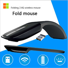 Wireless 2.4G Computer Mouse Foldable USB Nano Receiver