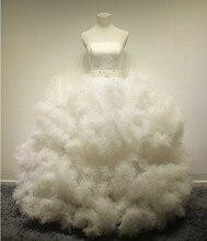 free shipping romantic salomon vestido de noiva bandage dress 2014 new fashionable casamento wedding bridal ball gown