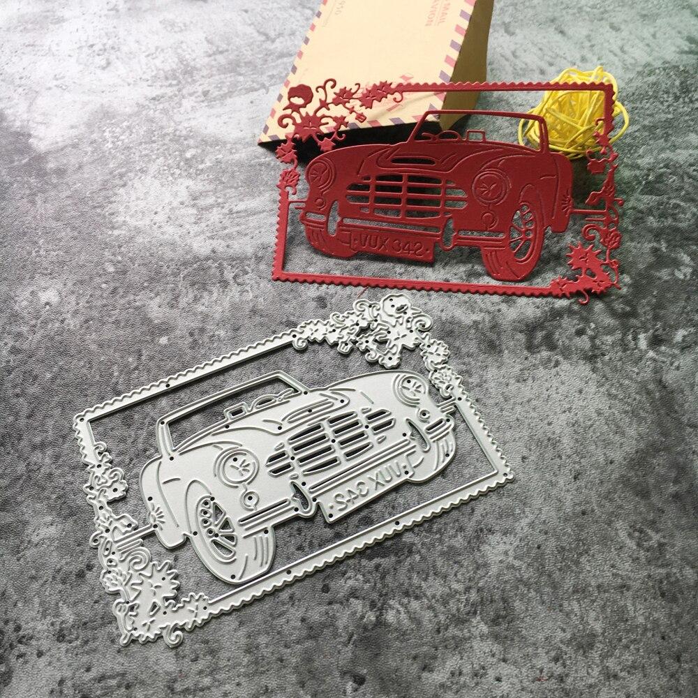 Venta caliente DIY Del Coche Marco de La Plantilla de Metal ...