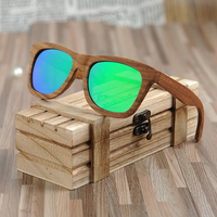 BOBO BIRD Brand Men Sunglasses Women Fashion With Wooden Frame And Green Polarized Lens As Gift Dropshipping OEM coulos de sol