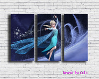Frozen Comes Home Canvas Painting Living Room Home Decor Modern Mural Art Oil Painting