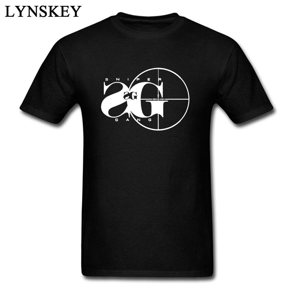 Sniper Gang T Shirts Men 2018 Fashion Shooting Tshirt Russia Military T-Shirts Daring Game Aim T Shirt 100% Cotton Summer
