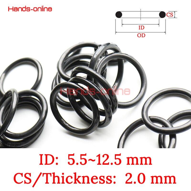 """Pack of 50 111 O Ring Seal Buna N; 7//16/"""" ID X 5//8/"""" OD X 3//32/"""" CS O-111"""