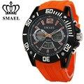 Smael grande mostrador do relógio do esporte dos homens à prova d' água moda relógio led digital quartz relógio de pulso dos homens relógio ocasional relogio masculino ws1035
