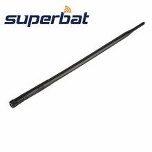 Superbat 3pcs 2.4GHz 12dBi Omni directional גומי ברווז אוויר Booster WiFi אנטנה RP SMA תקע עבור IEEE 802.11b אלחוטי רשתות Lan