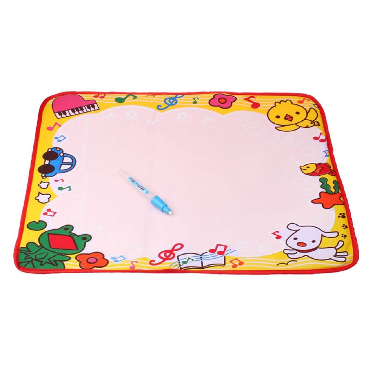 Children Water Drawing Painting Panel Painting Wall Mat, 48 x 36 cm
