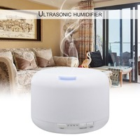 Electric Ultrasonic Home Office Air Aromatherapy Essential Oil Aroma Humidifier Mist Humidifier With 7 Colors Light