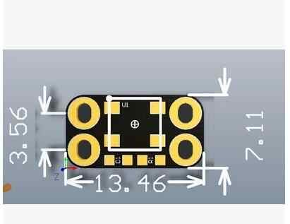 شحن مجاني!!! CJMCU-2812B أحدث WS2812B RGB LED كامل اللون 4 القدم محرك فانوس وحدة تطوير لوحة تركيبية الاستشعار