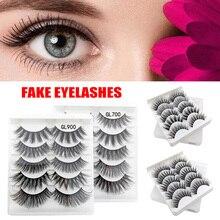лучшая цена Lashes 3D Eyelashes 100% Cruelty free Lashes Handmade Reusable Natural Eyelashes Popular False Lashes Makeup
