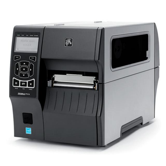 ZT410 203 dpi impresora de etiquetas de etiqueta industrial máquina impresora Zebra ZM400 impresora de etiquetas de la ropa etiquetas de cinta de transferencia actualizado