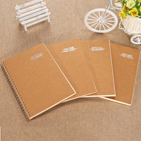 Classic A5 Coil Spiral Notebook Creative Office School Supplies Stationery Diary Exercise Book Notebooks Business Notepad