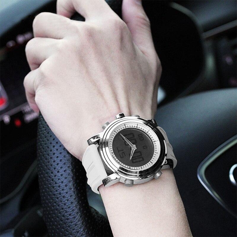 SINOBI 2018 Sport Digital Män Kvinnors Armbandsur Stock Watch Date - Herrklockor - Foto 5