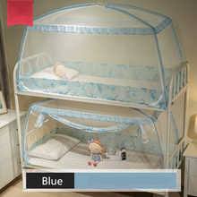 New 1 Piece 0.9m Mosquito Net For Dormitory Students Bunk Bed Kids Small Bed Mongolian Yurt Mosquito Net With Lace Decor 3 Color 859 combined bunk beds 1 5m children bed 3 in 1 children bed with storage pink kids lovely bed