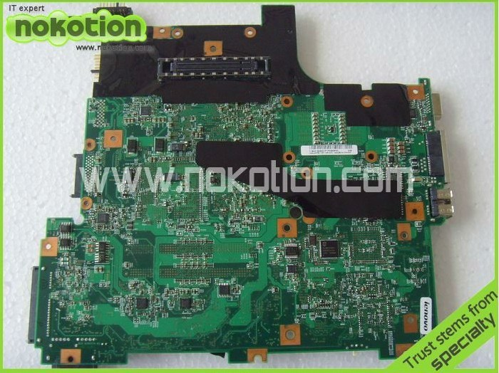 ФОТО FRU 41W1489 42W7776 Laptop motherboard For Lenovo T61 Intel DDR2 With NVDIA Graphics Card Mian board Full Tested Free Shipping