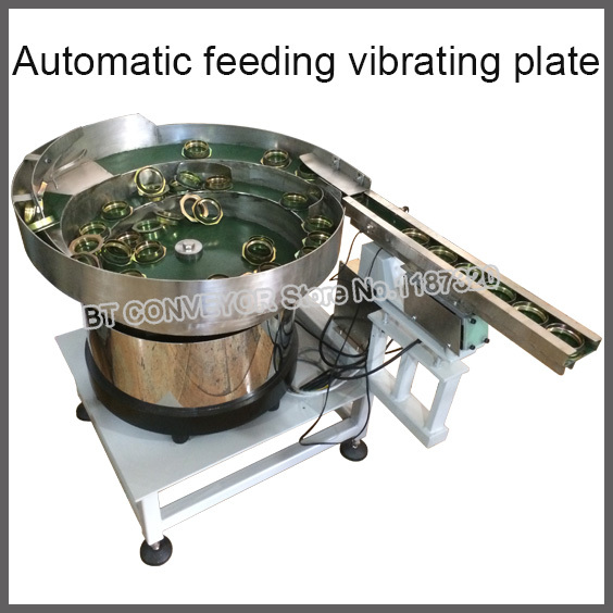 LED Vibration Plate Machine Automatic Vibratory Feeder Feeding Vibrating Platform for Medicine, Screw, Battery, Bulbs, Diode yamaha pneumatic cl 16mm feeder kw1 m3200 10x feeder for smt chip mounter pick and place machine spare parts