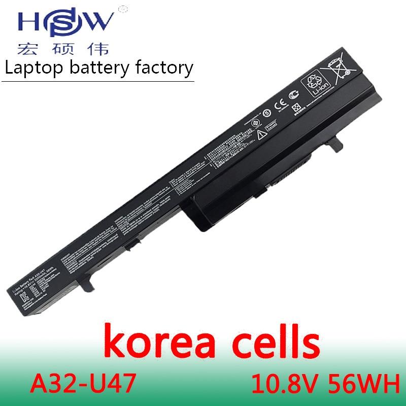 New Original  A32-U47 Laptop Battery For A41-U47 A42-U47 U47 U47A U47C Q400 Q400C R404 R404VC
