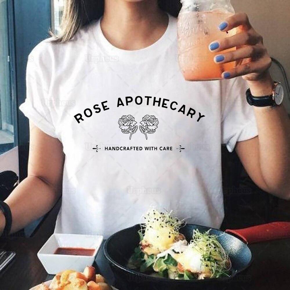 Schitt der Creek, Dass Rose Shop Hemd Rose Apotheker Schittscreek T-shirt Sommer Kurzarm